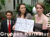 Gruppen Live Karikaturen