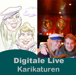 digital karikatur